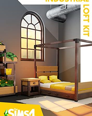 The Sims 4 Industrial Loft Kit - PC [Online Game Code]