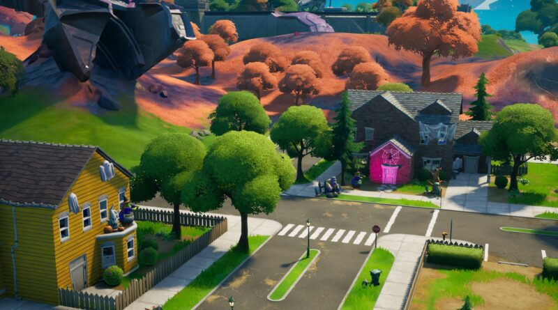 Where to collect candy in Fortnite to complete Halloween challenge